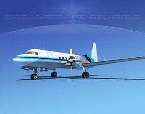 3D model Convair CV-580 Corporate 1
