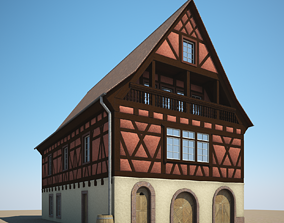 Medieval House II 3D