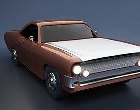 3D model Pontiac 1968 Concept