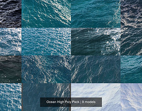 Ocean High Poly Pack 3D