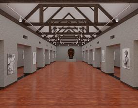 3D model Art Gallery contemporary