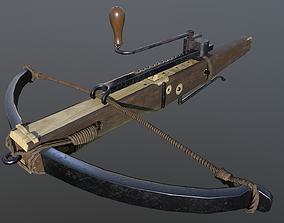3D model Crossbow with cranequin