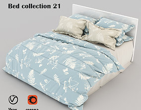 Bed collection 21 3D model