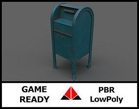 Mailbox 3D asset VR / AR ready