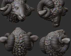 3D print model Ram Statue Sculpture