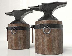 Blacksmith Set 3D asset