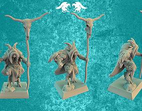 3D printable model Goatman shaman