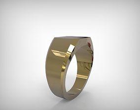 3D printable model Jewelry Golden Ring Massive