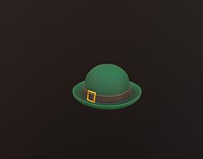3D model low poly hat