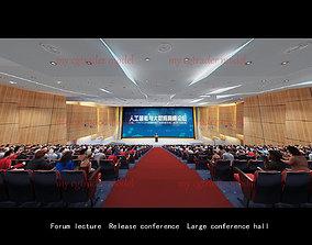 Large meeting room 3D model