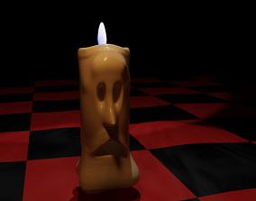 Candle Man 3D model