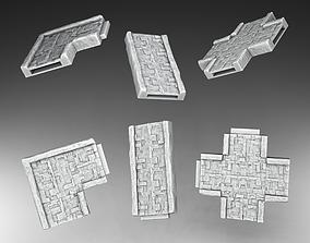 Road system 3D print model