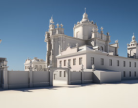 Baroque Cathedral 3D