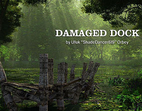 3D Damaged Dock