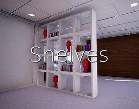 Shelves SHC Quick Office LM 3D model