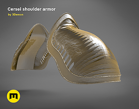Cersei shoulder- GAME OF THRONES 3D printable model