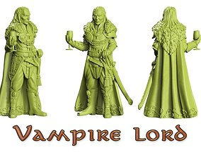 Vampire-mounted-dismounted 3D printable model