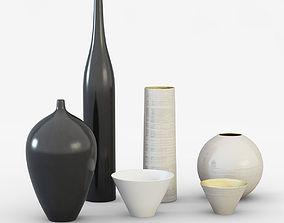 3D Ornamental vases