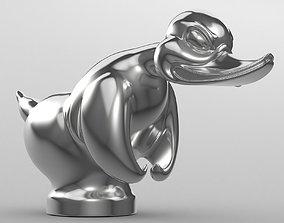 3D HOOD ORNAMENT Duck