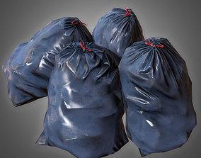 3D model Trashbag Set 2 - PBR Game Ready