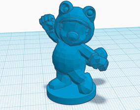 3D printable model Mario 3 simple STL