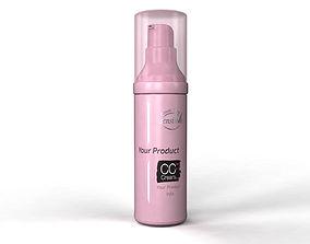 3D model Cosmetics Cream Bottle