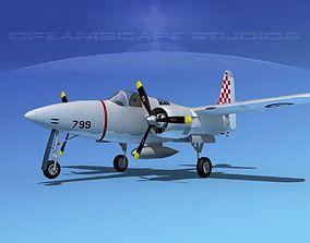 Grumman F7F Tigercat V06 3D