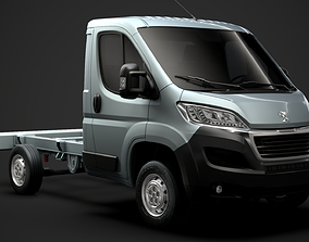 Peugeot Boxer Manager Chassis Truck Single Cab 3D model 1