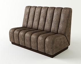 3D Subberjean lounge Sofa 3 colored