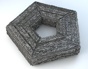 3D model Sci -Fi Shapes The Pentagon
