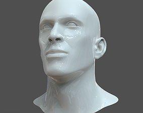 3D CAD-friendly Man Head Model M1P1D0V1head