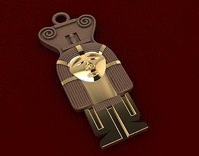 3D print model Ancient Egyptian Pharaoh Pendant 6