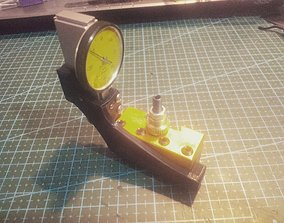 3D printable model Dial indicator support lathe
