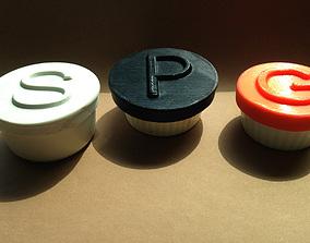 kitchen SMALL RAMEKIN LIDS 3D printable model