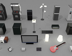 Gadgets and Electronics Pack 3D model