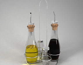 3D model Oil and Vinegar Stand