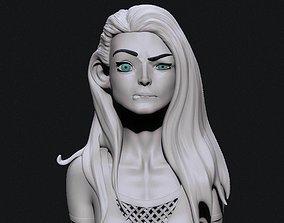 3D Stylized girl
