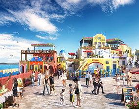 3D Children amusement park 24