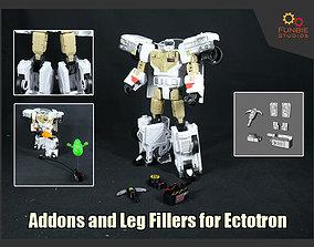 3D printable model Addons and Leg Filler for Transformers