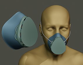 Face Mask protect 3D print model
