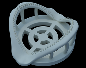 Shark Jaw Coaster 3D print model