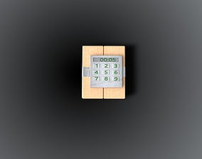 simulation c4 3D model