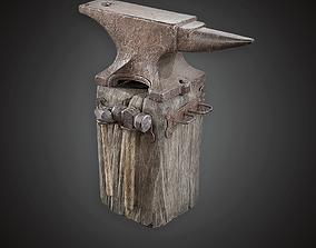 3D model MVL - Blacksmith Anvil - PBR Game Ready