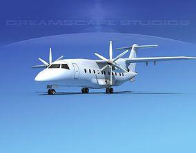 3D model Dornier Do-328-130 Unmarked 1