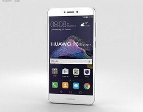 Huawei P8 Lite 2017 White 3D