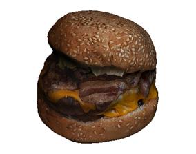 Cheese Burger food 3D