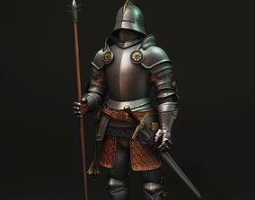 Knight 3D armour