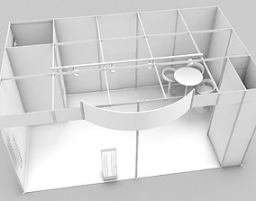 business 3D model exhibition stand design
