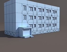 3D asset realtime Residential Building
