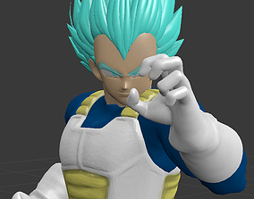 3D printable model DRAGON BALL CHARACTER BLUE VEGETA 1